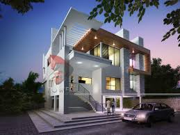 home design grey theme beautiful front elevation house design by ashwin architects modern