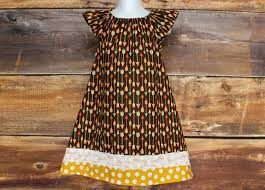 thanksgiving dress fall peasant dress newborn to child size 10