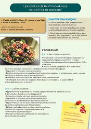 fiche cuisine le bio et l alternatif en cuisine pour plus de goût et de diversité