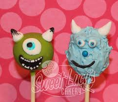 the 25 best monsters inc cake pops ideas on pinterest monsters