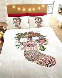 Duvet Cover Double Bed Size Quirky Duvet Covers Uk Presents Under The Christmas Tree Festive