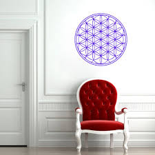 Om Wall Decal Mandala Vinyl by Aliexpress Com Buy 56x56cm Wall Decals Mandala Indian Pattern