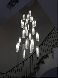 Foyer Light Fixture Contemporary Foyer Lighting Modern Entry Chandelier For High