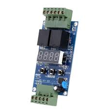 dc 12v dual channel programmable relay plc board cycle delay timer