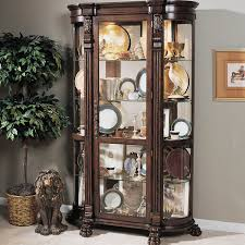 Cheap Antique Furniture by Curio Cabinet Magnificent Wayfair Corner Curio Cabinet Photo