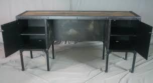 combine 9 industrial furniture u2013 industrial desk with side