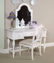 Small Vanity Set For Bedroom Contemporary White Wooden Cheap Makeup Vanity Tables Five Drawer