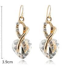 zirconia earrings toucheart luxury aaa cubic zirconia earrings fashion jewelry gold