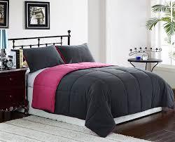amazon com cozy beddings reversible comforter set 3 piece queen
