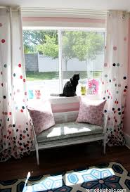 Curtain For Girls Room Remodelaholic Confetti Drapes Tutorial