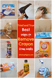 7 methods that actually work to remove crayon from walls