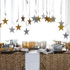 Black Silver New Years Eve Decorations by Glittering Black And Gold Christmas Decoration Ideas Holiday