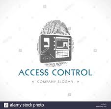 biometric access control system stock vector art u0026 illustration