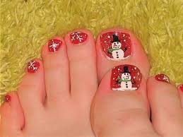 35 winter toe nail designs nail design ideaz