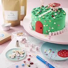 cake decorating enchanted fairy garden cake decorating kit craft crumb