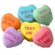 candy hearts sweethearts conversation hearts candies 1 oz box great