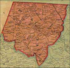 Md County Map Baltimore County District 6 J C Sidney Map Of The City And