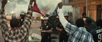 Blood Gang Flag The Bloods And The Crips