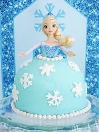 elsa doll birthday cake party ideas party