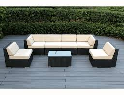 Couch And Chaise Lounge Beautiful Brand New Outdoor Wicker Sofa Dining And 2 Chaise