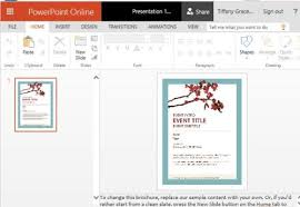 powerpoint flyer templates