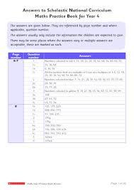100 national curriculum maths practice year 4 u2013 answers u2013 free