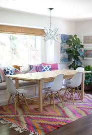Eclectic Dining Room With Chandelier  Bay Window Zillow Digs - Dining room with bay window