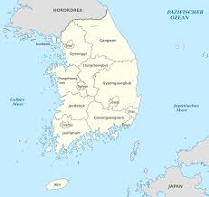 Map Of South Korea File South Korea Administrative Divisions De Monochrome Svg