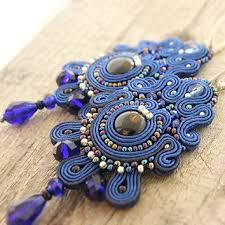 soutache earrings shop soutache jewelry on wanelo