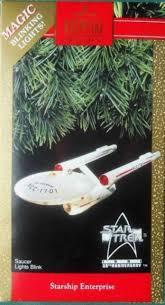 hallmark trek starship enterprise 1991 25th anniversary