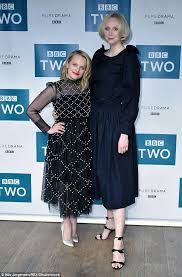 moss and elisabeth moss and gwendoline christie at london screening daily