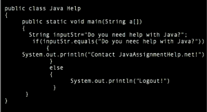 Java Code Help Available Online from the Program Experts   Java     Java Assignment Help