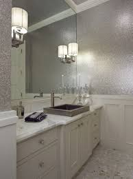 glitter wallpaper bathroom hgtv says if you mix a gallon of glue with glitter then paint with