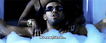 Drake No New Friends Meme - 21 commonly used instagram captions everyone falls back on