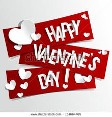 valentine s happy valentines day to u too stock vector happy valentines day card