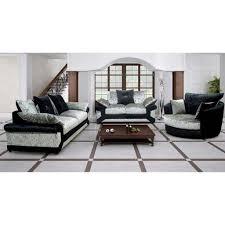 Cheap Sofa Cheap Sofa Uk Calvin Crushed Velvet Fabric Sofa Set Black