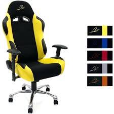 chaise bureau jaune chaise de bureau jaune fauteuil racing noir achat bim a co