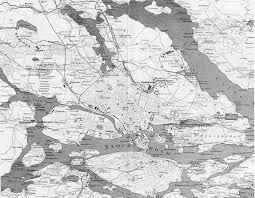 Old Map Of Europe by Detailed Old Map Of Stockholm City 1912 Stockholm Sweden