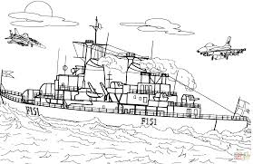 frigate warship coloring page free printable coloring pages
