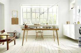 bureau stylé 30 idées pour décorer un bureau avec un style scandinave