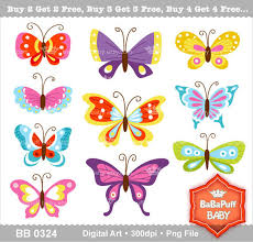 10 butterfly clip personal and small commercial use
