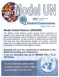 Spc Seminole Campus Map Join The Model Un For Fall International Experience College