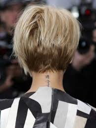 backside of short haircuts pics best 25 short graduated bob ideas on pinterest blonde graduated