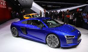 the all new audi r8 e tron battery electric version audi had