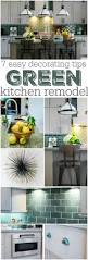 Green Home Design Tips by 7 Decorating Tips For A Green Kitchen Crazy For Crust