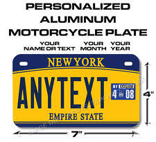 Custom Vanity Plate Collectible New York License Plates Ebay