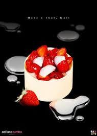cheesecake mousse cheesecake puree strawberry gel fresh