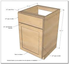 Cabinet Toe Kick Dimensions 3 Drawer Kitchen Base Cabinet Dimensions Cabinet Home Design