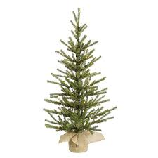 small artificial christmas trees shop vickerman 2 5 ft tabletop pre lit pine artificial christmas
