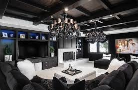 Black And White Living Rooms Design Ideas - Black and white living room design ideas